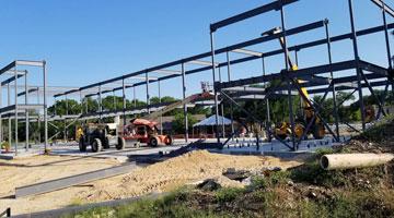 Construction Updates & Fundraiser