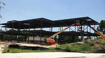 Construction update July