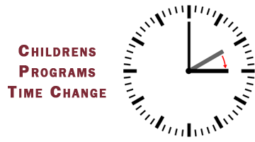 ICBC Childrens Programs: Spring Break Schedule